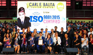 Socotec - CARL E. BALITA Review Center ISO 9001:2015 Awarding