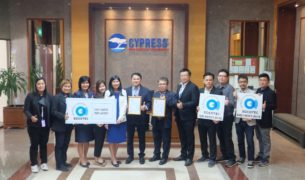 Socotec - Congratulations to Cypress Semiconductor (Thailand)  Co., Ltd.  for received ISO 45001:2018  from SOCOTEC Certification (Thailand) Co., Ltd